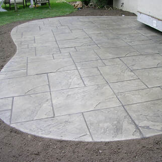 Panama City Concrete Contractor - Stamped Concrete Patio
