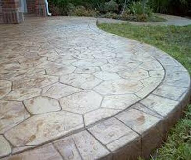 Panama City Concrete Contractor - Stamped Concrete Patio Deck